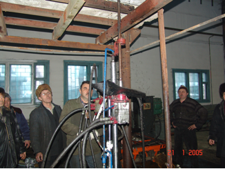 Laboratory tests of the anchor installation machine KGA-2M